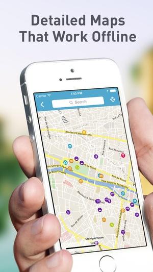 Screenshot India Travel Guide by Triposo featuring Delhi, Mumbai, Kolkata and more! on iPhone