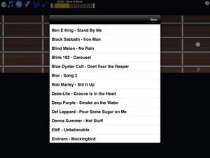Screenshot Bass Guitar Tutor Pro on iPad