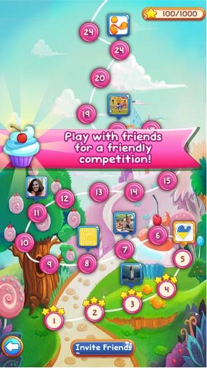 Screenshot Sweet Candies 2 on iPhone