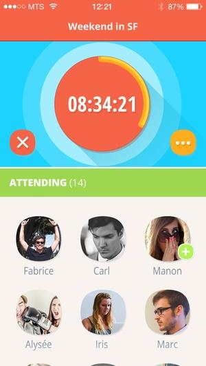 Screenshot Flashgap on iPhone