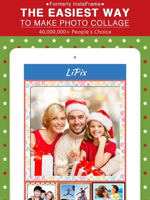 Screenshot LiPix on iPad