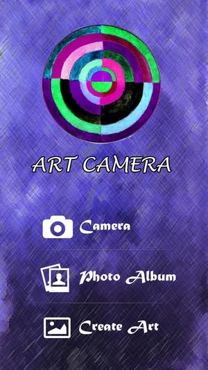 Screenshot Art Camera: Draw and Create plus Photo Editor on iPhone