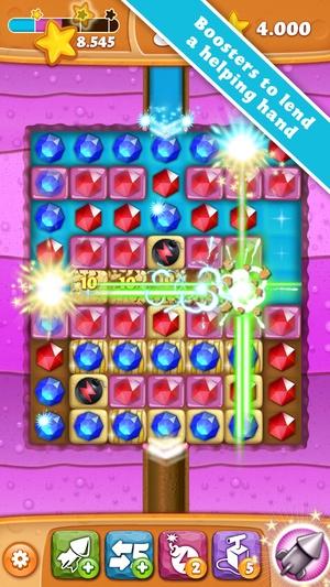 Screenshot Diamond Digger Saga on iPhone