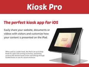 Screenshot Kiosk Pro on iPad