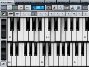 Screenshot Music Studio on iPad