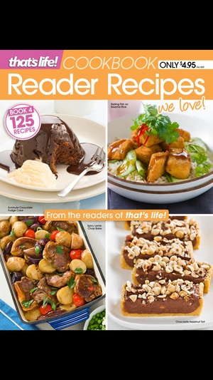 Screenshot that's life! Reader Recipes on iPhone