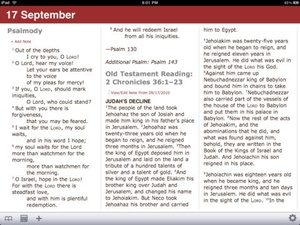 Screenshot PrayNow on iPad