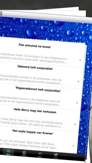 Screenshot Nederlandse Kranten | Holland Newspapers | Dutch Newspapers on iPhone