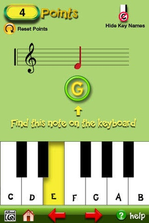 Screenshot Music for Little Mozarts on iPhone