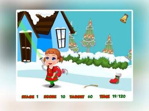 Screenshot Baby Seven Christmas Clean Up on iPad