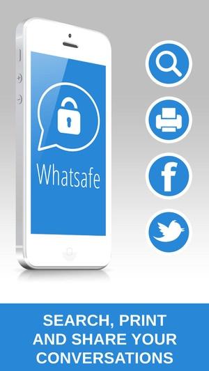 Screenshot Password for WhatsApp on iPhone