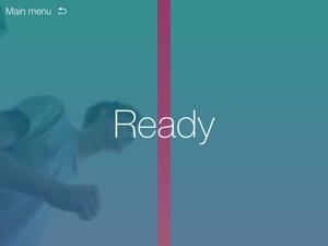 Screenshot Sprint App on iPad