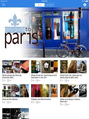 Screenshot Girl's Guide to Paris: Shopping & Sightseeing on iPad