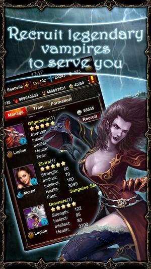 Screenshot Vampire War on iPhone