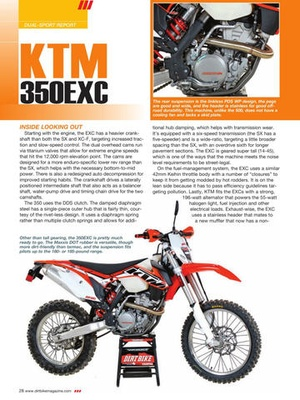 Screenshot Dirt Bike Magazine on iPad