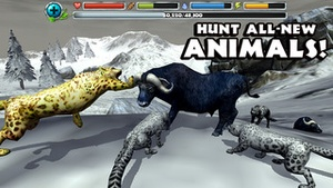 Screenshot Snow Leopard Simulator on iPhone