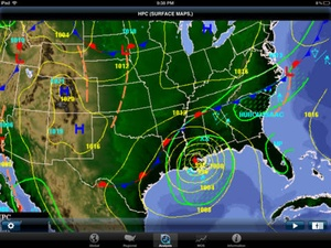 Screenshot WeatherGeek Pro 2 on iPad