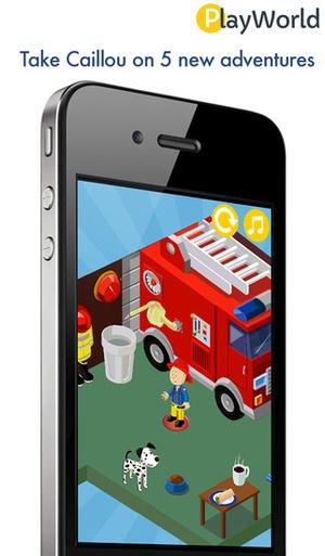 Screenshot PlayWorld Caillou the Hero on iPhone