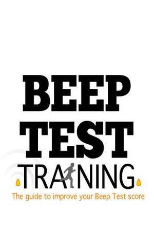 Screenshot Beep Test Training Guide on iPhone
