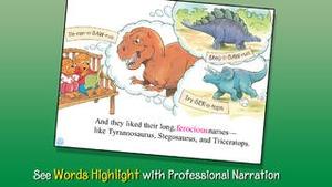 Screenshot The Berenstain Bears' Dinosaur Dig on iPhone