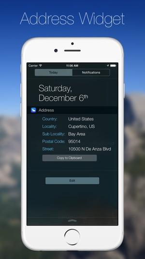 Screenshot SkyWidgets on iPhone