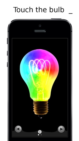 Screenshot Lamp CL on iPhone