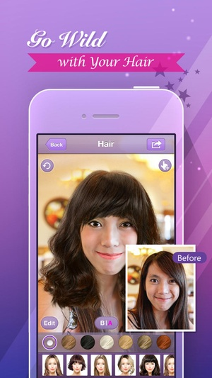 Screenshot Perfect365 - One-Tap Makeover on iPhone