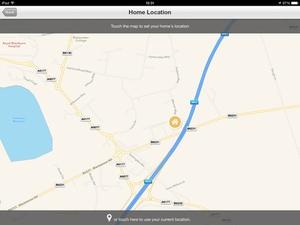 Screenshot Heatmiser Neo on iPad