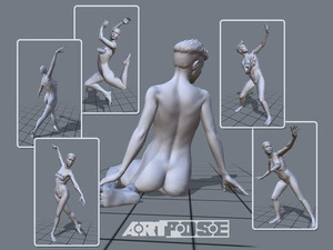 Screenshot ArtPose Female Edition on iPad