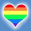 Rainbow Valentine's Day