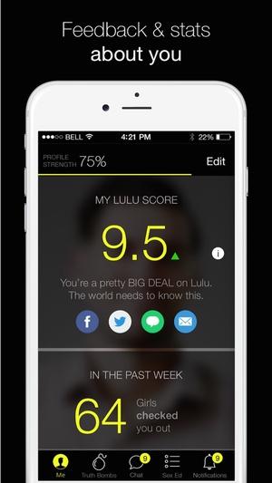 Screenshot Lulu on iPhone