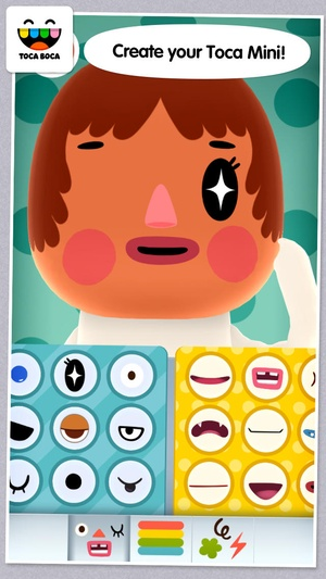 Screenshot Toca Mini on iPhone