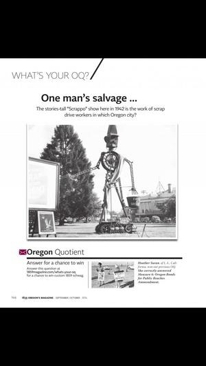 Screenshot 1859 Oregon's Magazine on iPhone