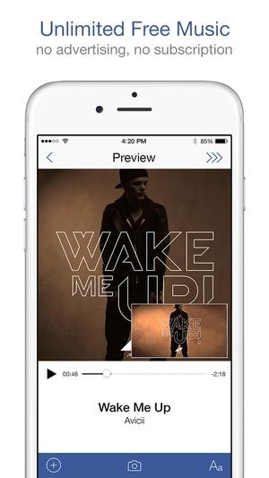 Screenshot Music Messenger on iPhone