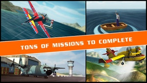 Screenshot Flight Pilot Simulator 3D on iPhone