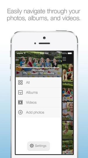 Screenshot Amazon Photos on iPhone
