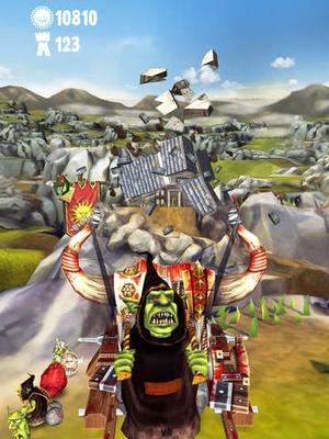 Screenshot Warhammer: Snotling Fling on iPad