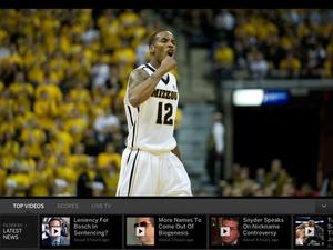 Screenshot WatchESPN on iPad