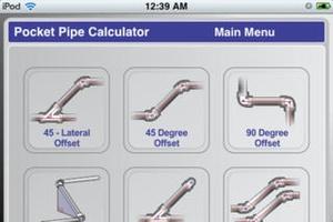 Screenshot Socket Pipe Calculator on iPhone