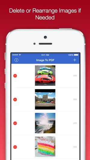 Screenshot Image To PDF Converter Pro on iPhone