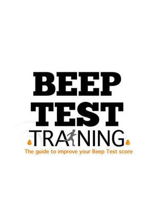 Screenshot Beep Test Training Guide on iPad