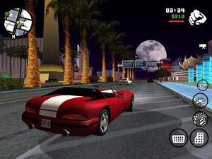 Screenshot Grand Theft Auto: San Andreas on iPad