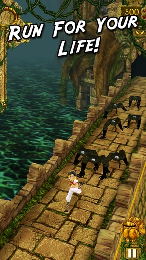 Screenshot Temple Run on iPhone
