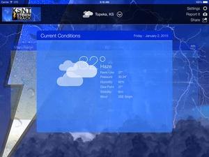 Screenshot KSNT Weather on iPad