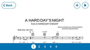 Screenshot Musicnotes Player on iPhone