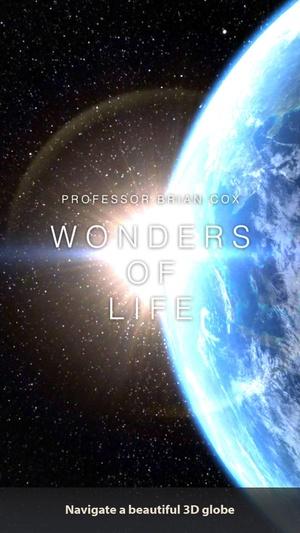 Screenshot Brian Cox's Wonders of Life on iPhone