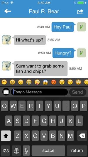Screenshot Fongo World Edition on iPhone