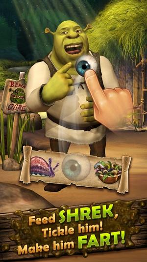 Screenshot Pocket Shrek on iPhone