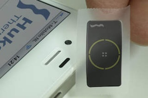 Screenshot Solar Measurement / PyranometerApp on iPhone