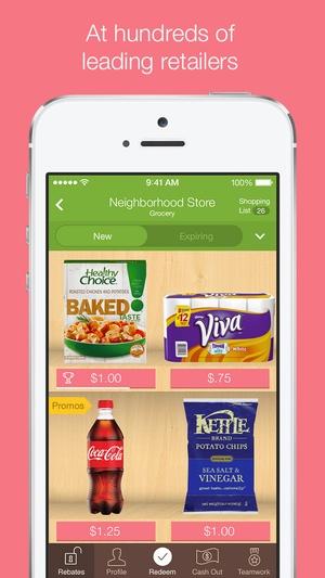 Screenshot Ibotta on iPhone